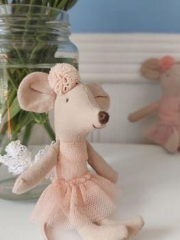 Maileg, Little Sister Ballerina with headband