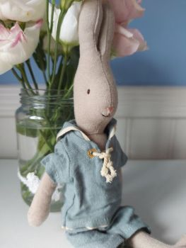 Maileg, Size 1 Rabbit in Sailor Outfit