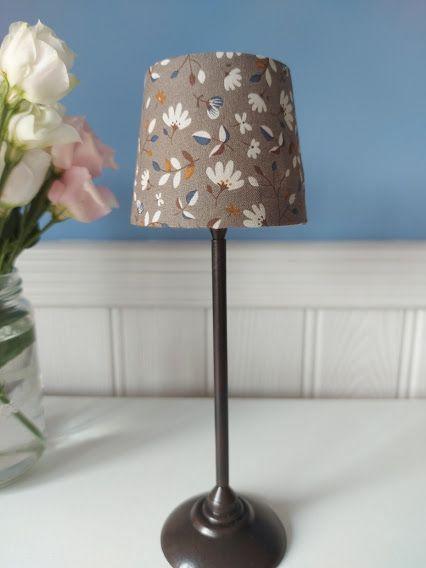 Maileg, Miniature Floor Lamp Anthracite