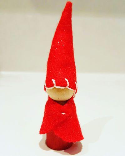 Santa Peg Doll