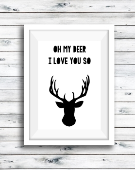 Quote - Oh My Deer