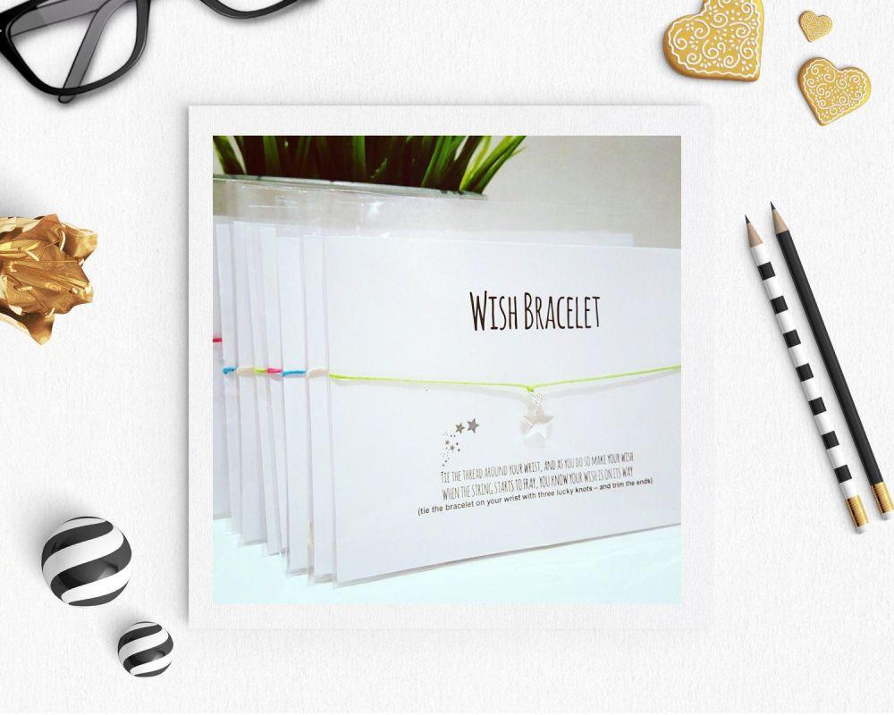 Wish Bracelet - Pack of Ten