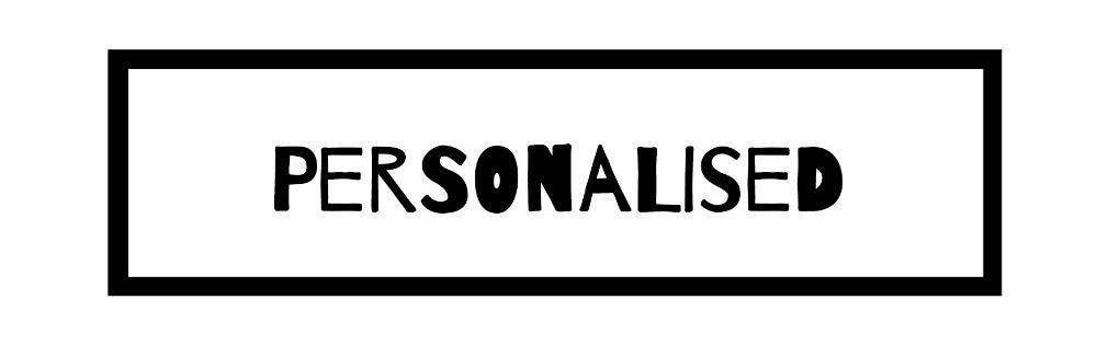 Personalised