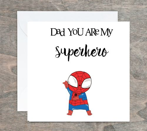 Superhero Card - Personalised Boy