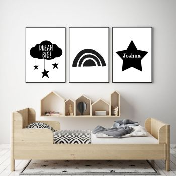 Dream Big Wall Art Set