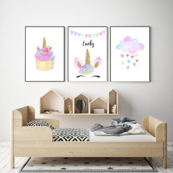 Unicorn Print Set