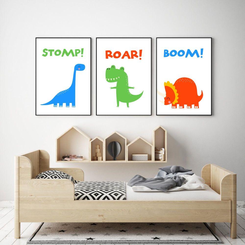 Dinosaur Print Set