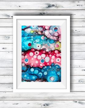 Abstract Art Ink Painting - Dots