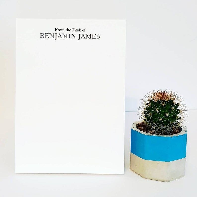Personalised A6 Tear off Notepad
