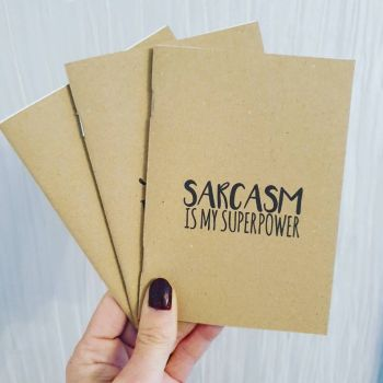 Sarcasm Notepad Set