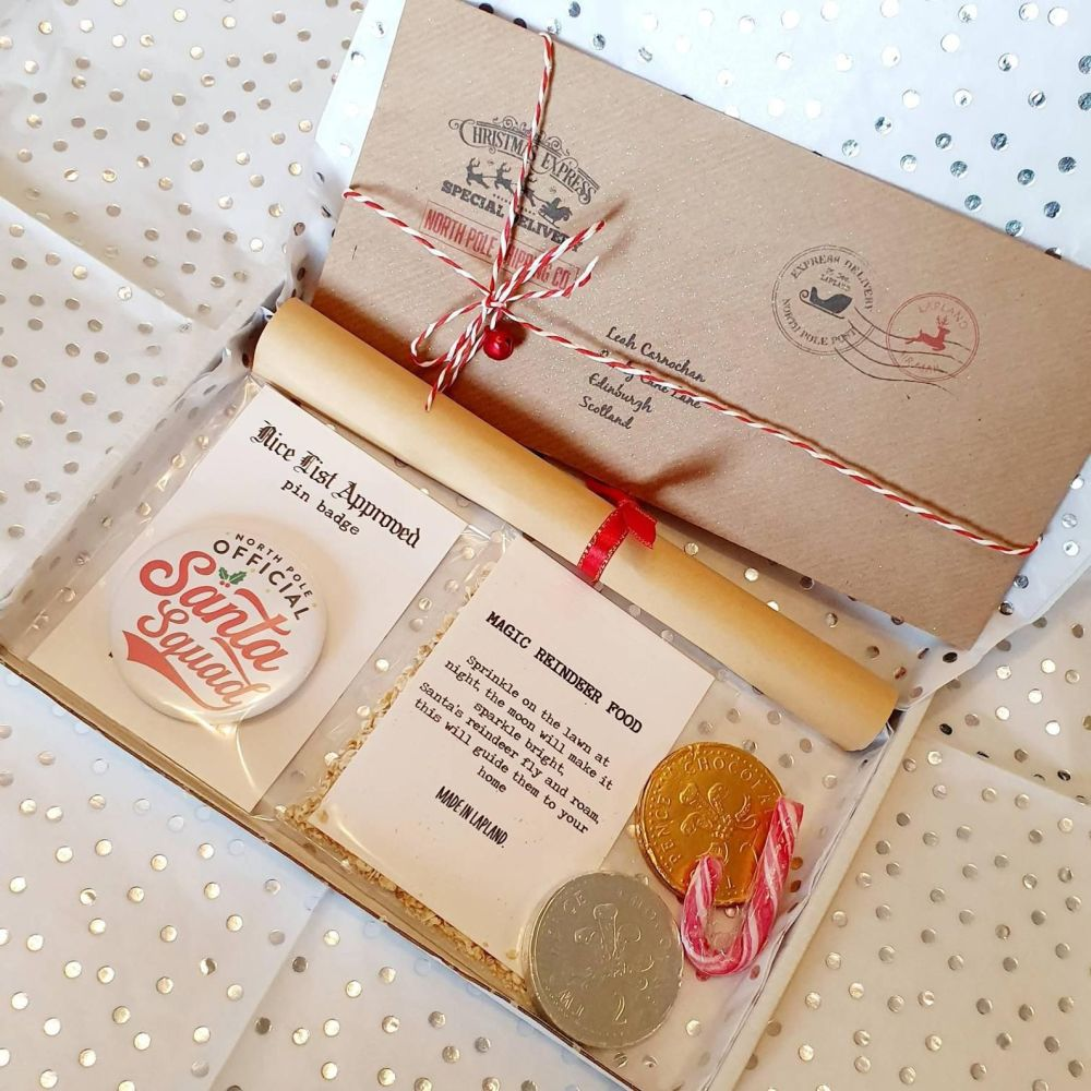 Luxury Santa Letter Gift Set