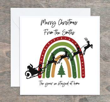 Rainbow of Hope Personalised Christmas Cards