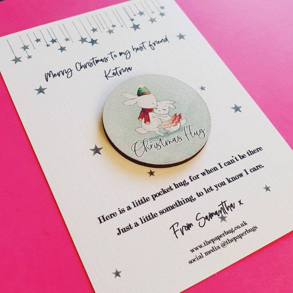 Christmas Pocket Hug - Isolation Gift