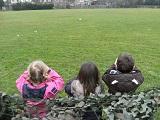 Children Viewing Across Field