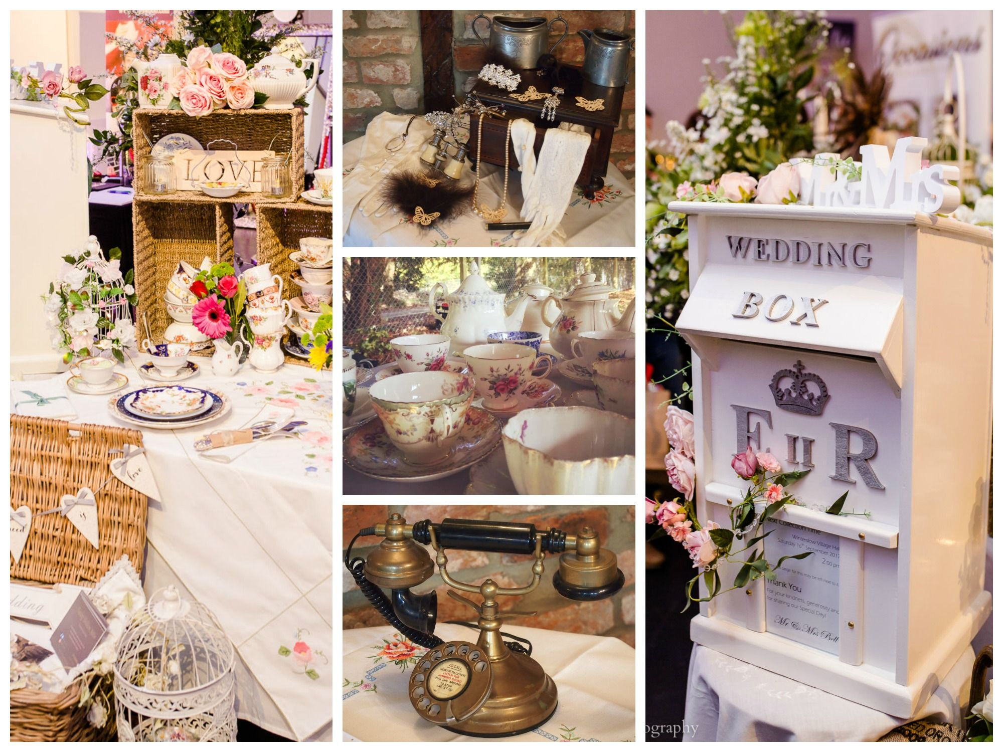 Nanny Nellie's Attic - Vintage China Hire & Props Wiltshire - Love That Wed