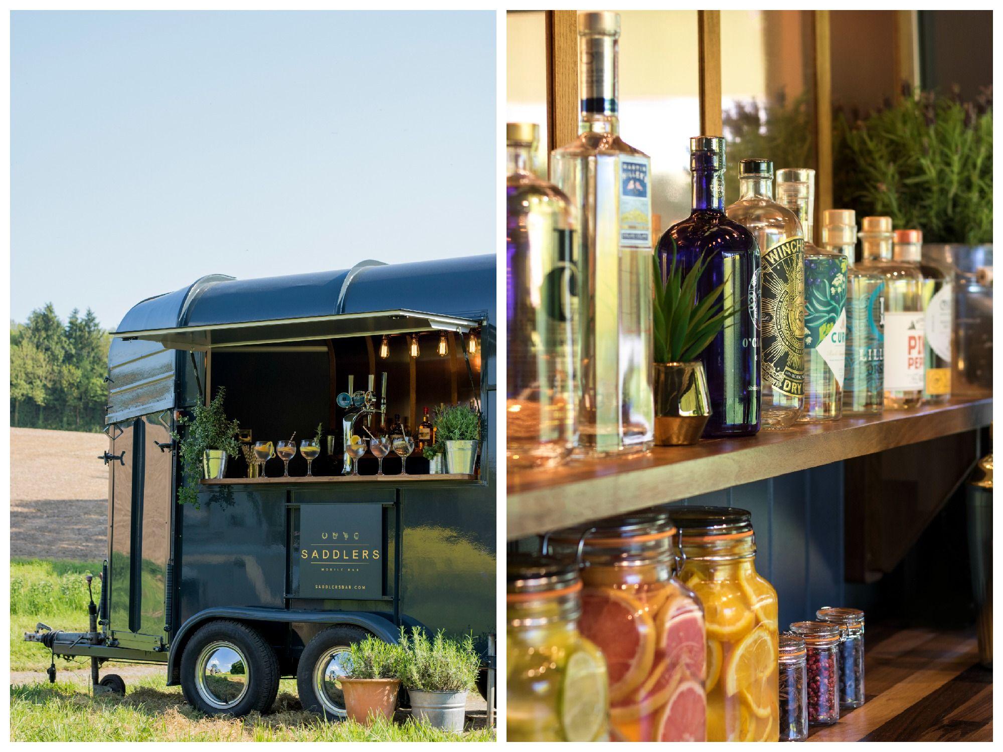 Saddlers Bar - Luxury Mobile Bar Wiltshire - Love That Wedding!