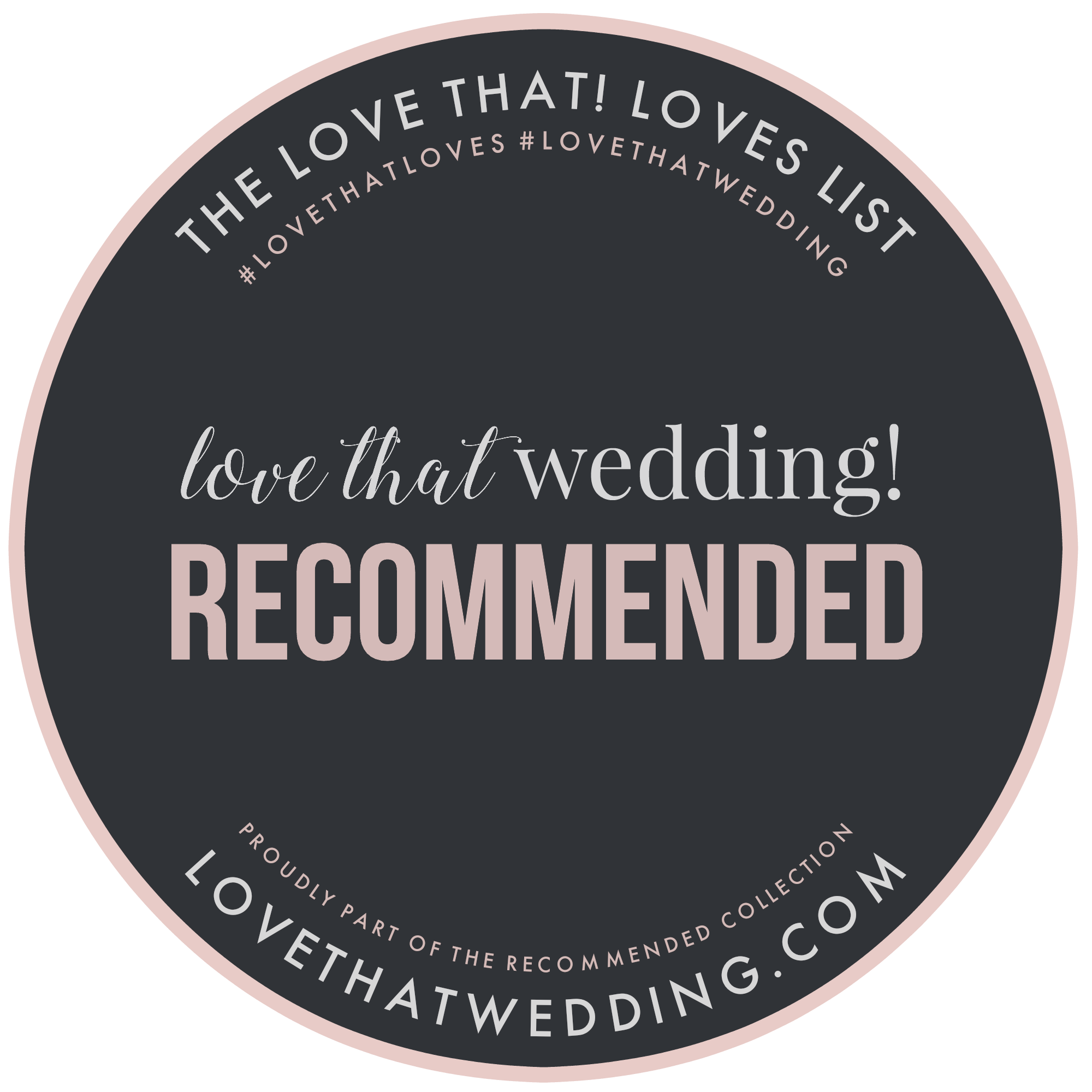 love that wedding (recommended)