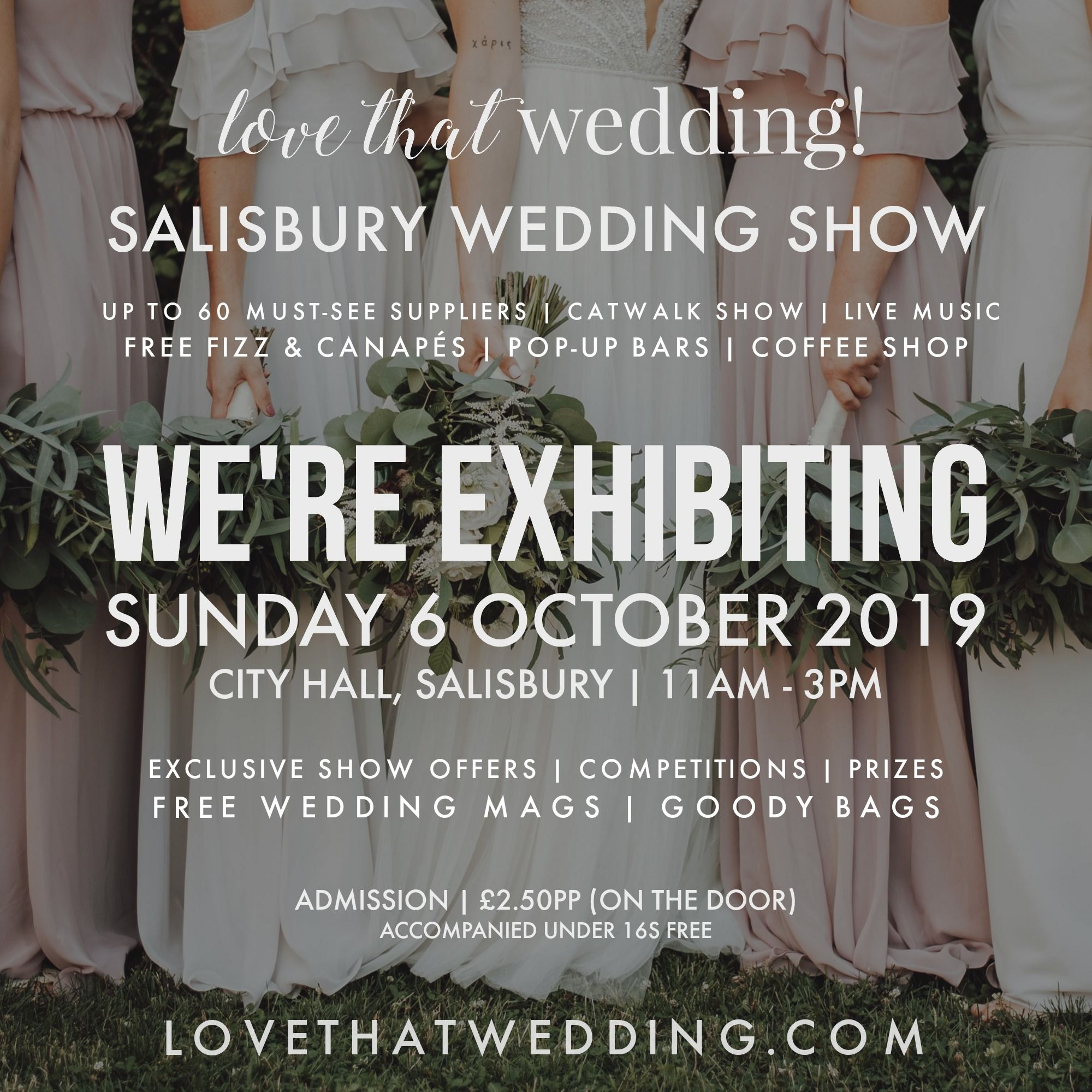 WE'RE EXHIBITING - SALISBURY - NEW DESIGN