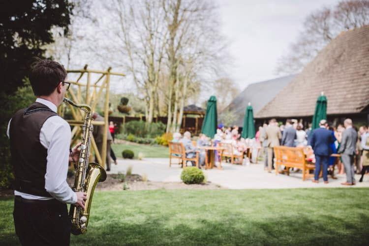 Dinner Jazz Sax - Wedding Saxophonist in Wiltshire - Love That Wedding!