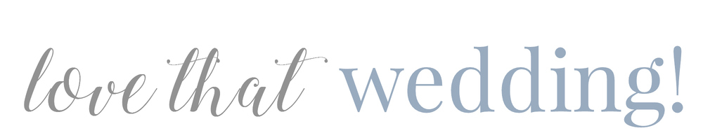 Love That Wedding!, site logo.