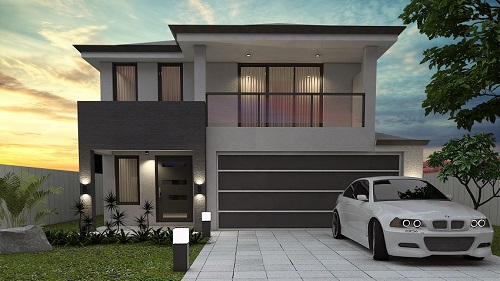 Beautiful 2 Storey Homes Designs For Small Blocks Images - Amazing ...