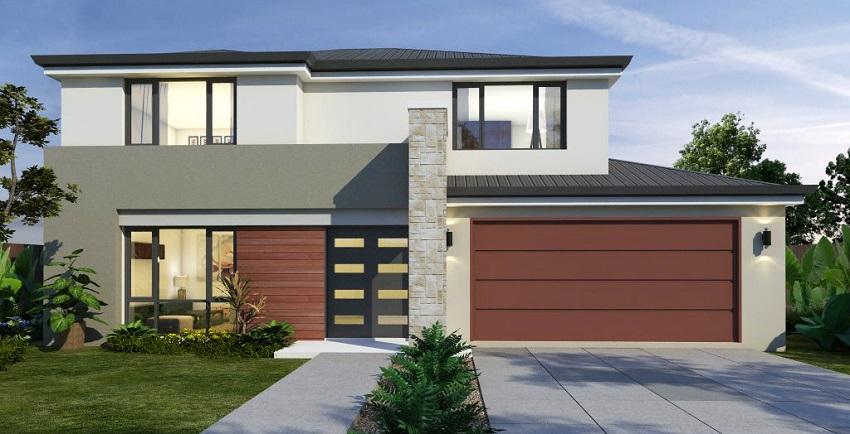 Rear Lot 2 Storey Home Designs Strata Lot Home Designs