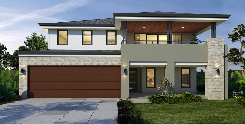 Upstairs living home designs perth wa 2 storey upper for Houses with upstairs living