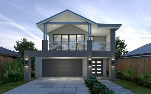Two Storey Beach House Plans