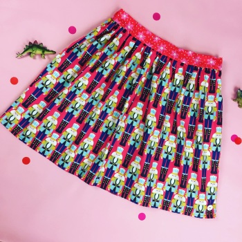 Women's Christmas Nutcracker Skirt