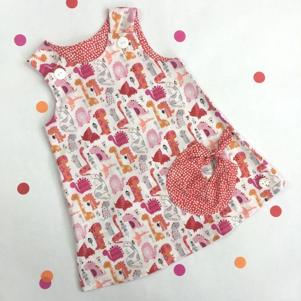 Dinosaur Bubble Pocket Dress