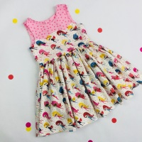 Superhero Girl Party Dress
