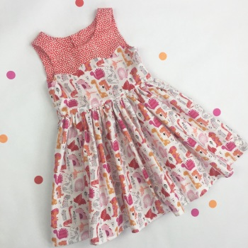 Dinosaur Party Dress