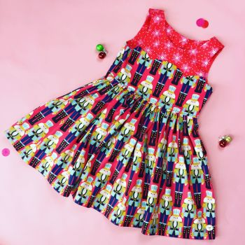 Christmas Nutcracker Party Dress