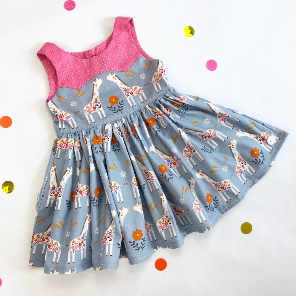 Giraffe Party Dress