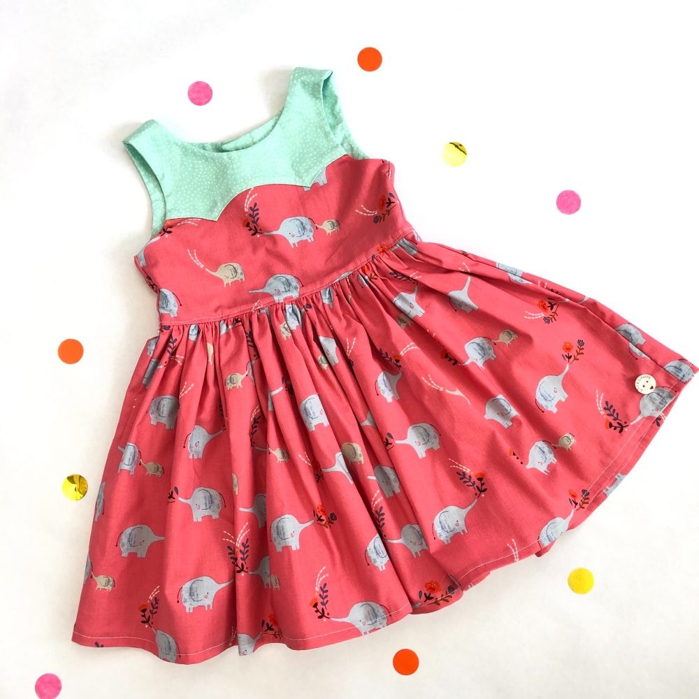 Elephant Party Dress
