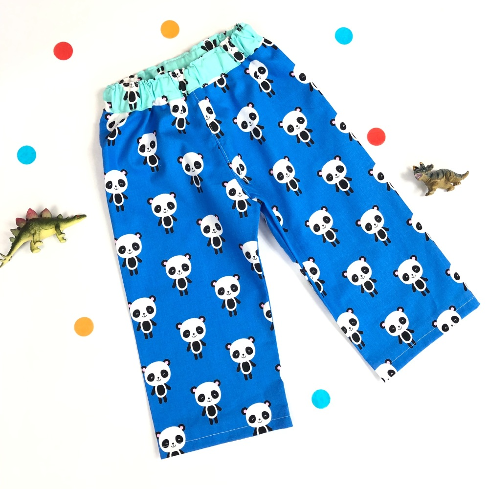 Boys Panda Trousers