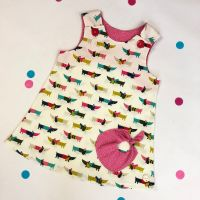 Sausage Dog Bubble Pocket Dress