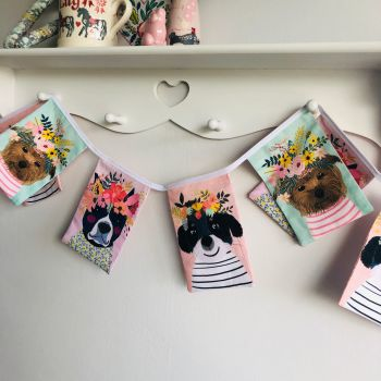 Floral Dog Bunting