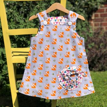 Fox Bubble Pocket Dress
