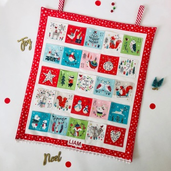 Fun Animal Advent Calendar - Personalised