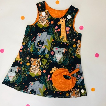 'Our Planet' Bubble Pocket Dress