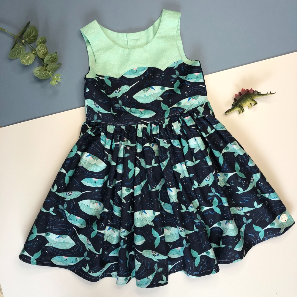 Whale Party Dress