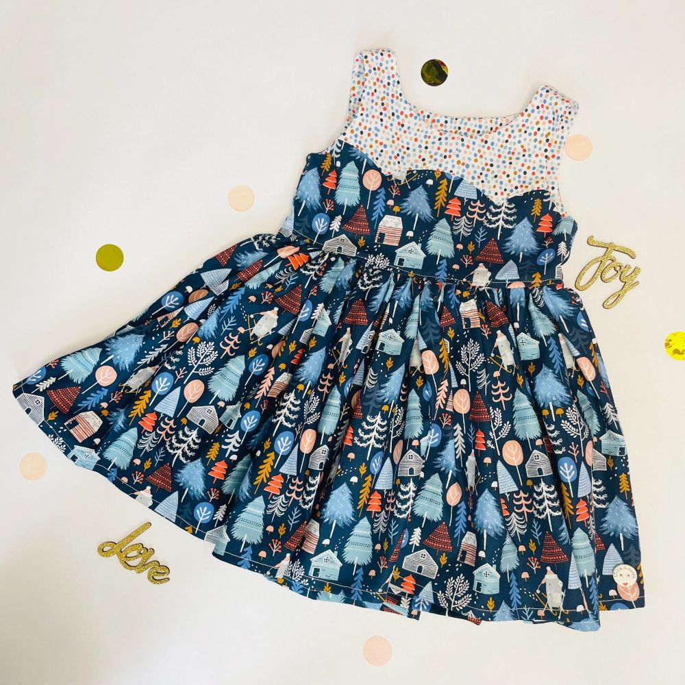 Christmas Woodland Party Dress