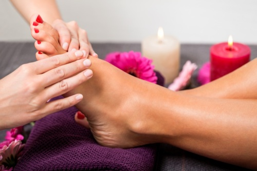 Hand,Arm, Foot and Leg Massage