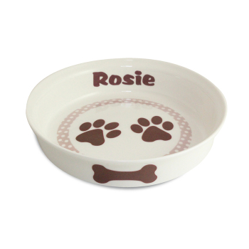 Personalised Pet Bowl - Paws Small Dog / Puppy Bowl