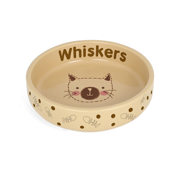 Personalised Pet Bowl - Stitch Small Cat / Kitten Bowl