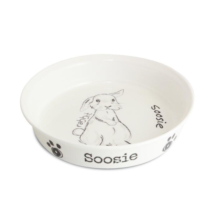 Scribble Small Rabbit Bowl