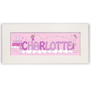 Personalised Child's Name Frame - Little Princess