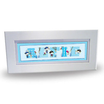 Personalised Child's Name Frame - Priates