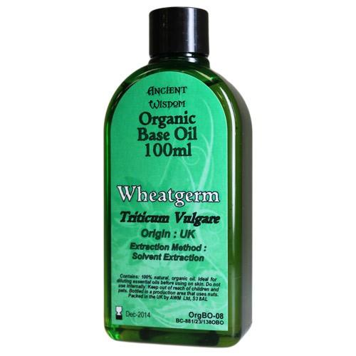 Wheatgerm 100ml Organic Base Oil
